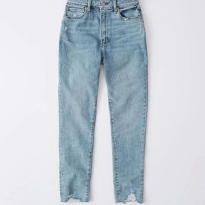 Abercrombie Curve Love high rise super skinny